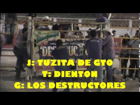 LOS DESTRUCTORES DE MEMO OCAMPO Y RANCHO LA ESTRELLA EN QUERETARO 2012
