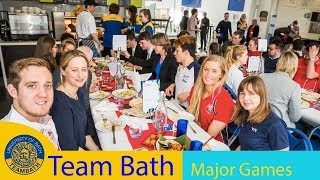 Commonwealth send-off and Winter Olympic homecoming at the University of Bath