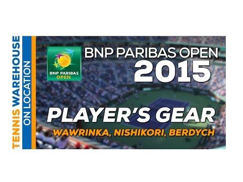 Wawrinka, Nishikori, Berdych BNP Paribas Open 2015 Practice