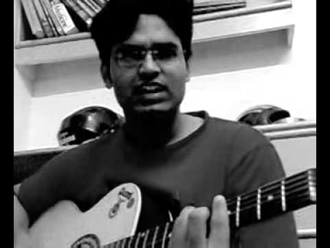 Aabhija mere do bacho ki maa acoustic unplugged... mobile recording...