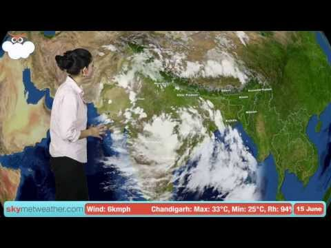 15 June Monsoon Update: Skymet Weather