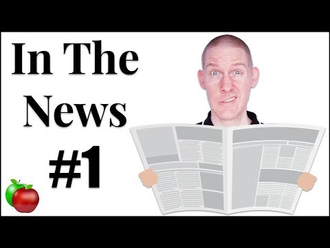 🍎 In The News #1 | Let's Explore The News | LIVE English Lesson