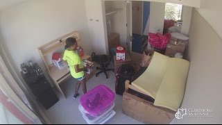 Dorm Move In Time Lapse - Featuring Alyssa Jones