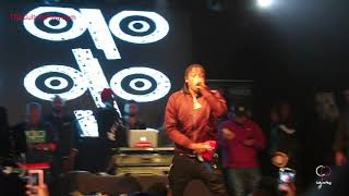 """Flipp Dinero Performs """"Leave Me Alone"""" At Powerhouse Pre-Party"""