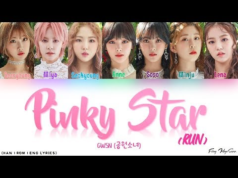 Download GWSN 공원소녀 – Pinky Star Run Color Coded Han|Rom|Eng s 가사 Mp4 baru