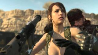 Metal Gear Solid 5 Phantom Pain - Quiet Speaks to Save Venom Snakes Life