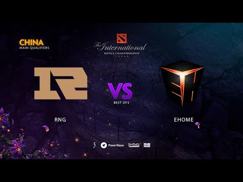 Royal Never Give Up vs EHOME, TI9 Qualifiers CN, bo3, game 1 [Adekvat & Eiritel]
