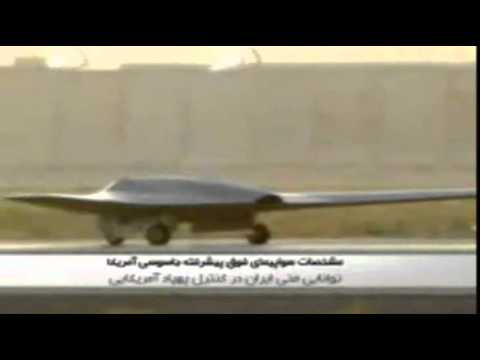Iran TV`s:How We Trapped CIA Reconnaissance RQ-170 Stealth UAV Toy  for  Christmas Gifts