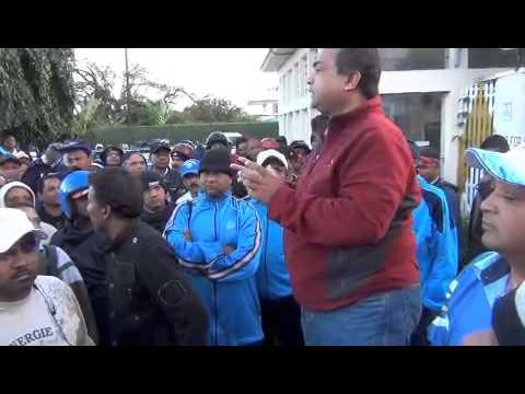National Transport Corporation on strike
