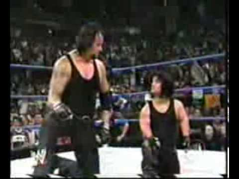 WWE The Undertaker meets Mini Undertaker