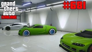 GTA 5 Online #681 Kleine Garagentour [Deutsch] Let´s Play GTA V Online PS4