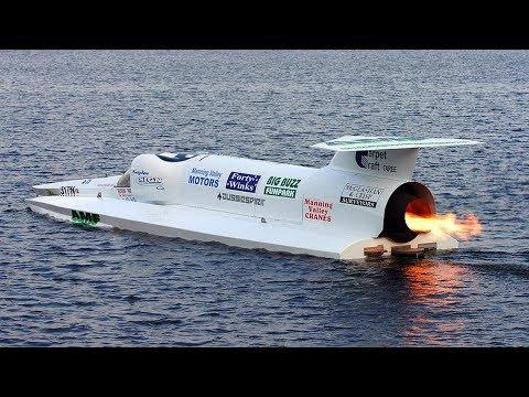 Самые быстрые и скоростные катера в мире!