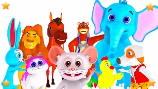 Kids Nursery Rhymes Songs Collection | Preschool Rhymes | 3D Baby Songs by Little Treehouse