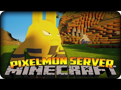 Minecraft Mods - Pixelmon - Region 2 Let's Play - Episode #5 ELEKID' !