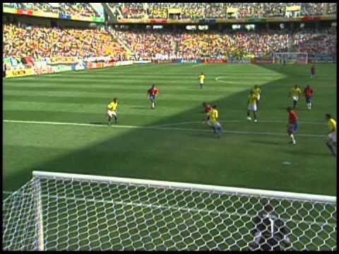Goles de Costa Rica en Mundiales