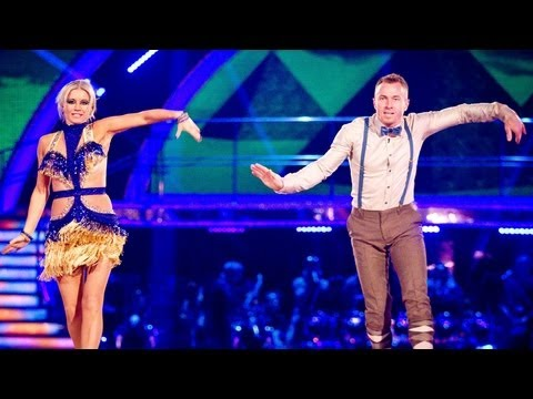 Denise Van Outen Charlestons to 'Walk Like An Egyptian' - Strictly Come Dancing 2012 - BBC One