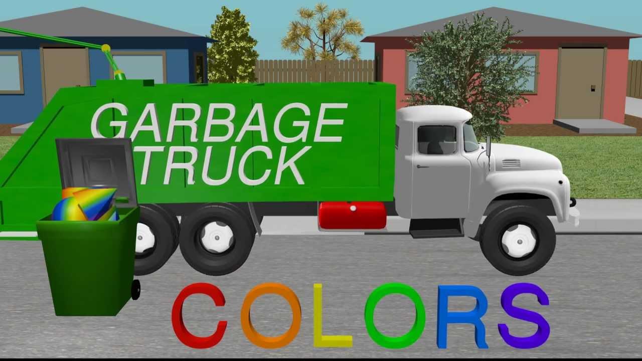 Kids Garabage Truck Videos