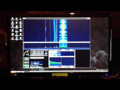 Fifi sdr on my ham radio station