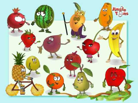 Fruits Rhymes Jingel Toons video