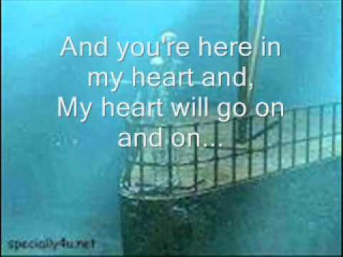 Titanic Theme Song - Lyrics video