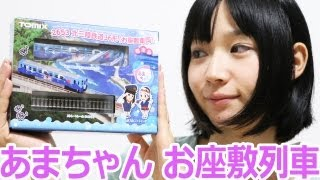 あまちゃんのお座敷列車の模型を買ってきた。