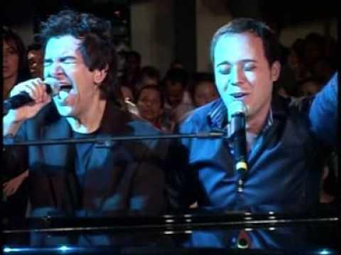 REGIS DANESE E ANDRE VALADÃO NA IGREJA BATISTA DA LAGOINHA. piano e voz