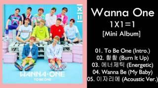 [Mini Album] Wanna One – 1X1=1 (MP3 DOWNLOAD)