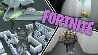 Pacman vs Fortnite