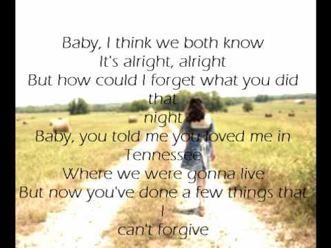 Tim Mcgraw - Me And Tennessee