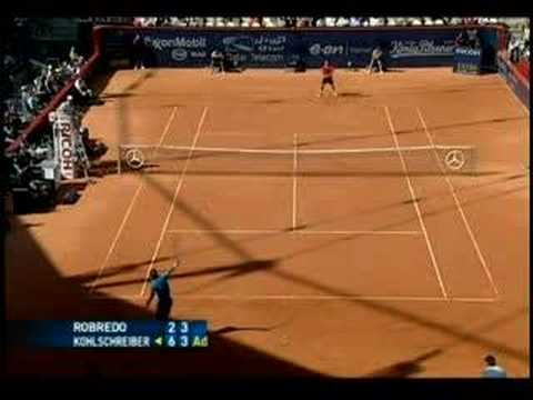 Play of The Week, Tommy Robredo, 12.06.08 Video