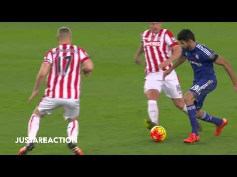 D.Costa VS Ryan Shawcross // he stinks!