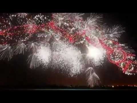 very beautiful fireworks