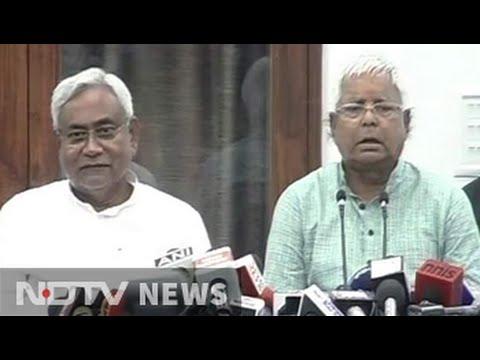 Nitish-Lalu say Bihar has chosen what country wants
