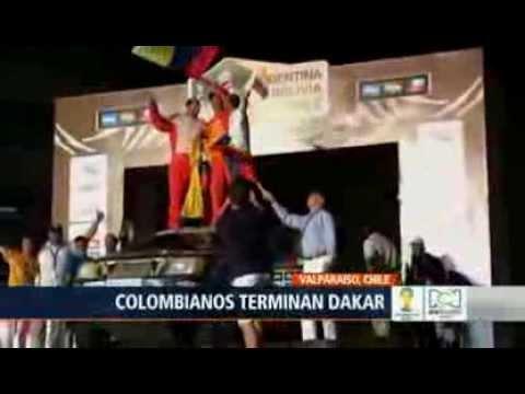 NOTICIAS RCN Cinco colombianos lograron terminar el rally Dakar
