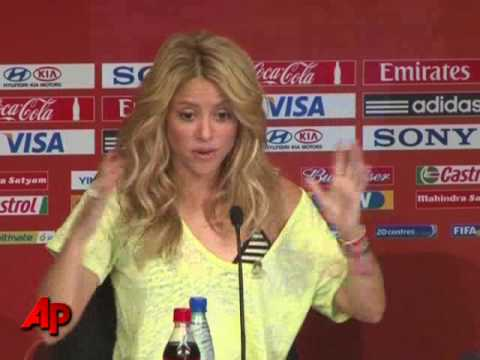 Shakira Goes 'Waka Waka' in Africa