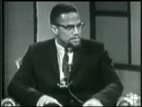 Malcolm X Rare Canadian CBC TV Show 1965 Part 2