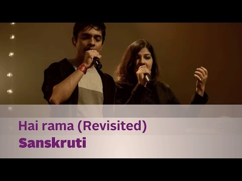 Hai rama (Revisited) - Sanskruti - Music Mojo Season 2 - Kappa...