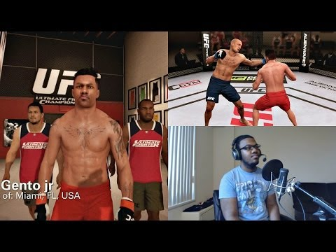 EA Sports UFC PS4 Career Mode Gameplay FACECAM - Elimination Fight!! Ep. 2