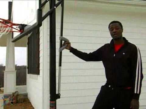Lifetime 50 Inch Shatter Proof Portable Basketball Hoop - Product Review Video