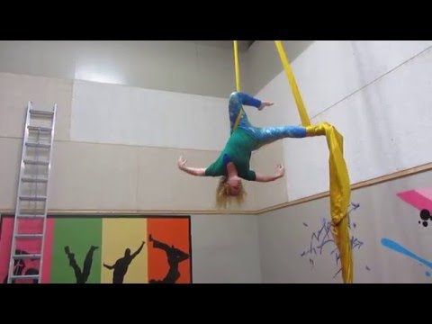 Aerial Silks Mother's Day 2016