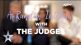 Seriously Random Interview With The Judges | AXN Asia's Got Talent S3