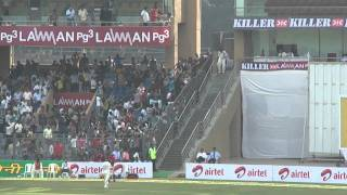 Sachin's Entry in Wankhede Stadium 24/11/2011 .