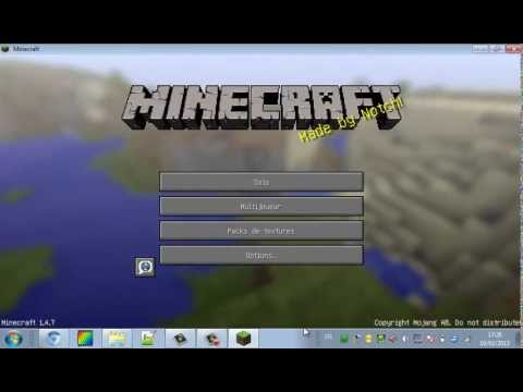 Comment cracker Minecraft sous WindowsXP Vista 7 8