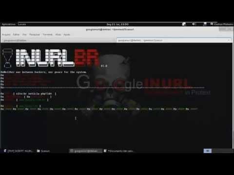 Tutorial SCANNER INURLBR V1.0  opção -q