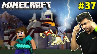 SUPER SKELETON HORSE ATTACK ON ME | MINECRAFT GAMEPLAY #37