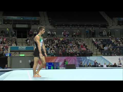MAX WHITLOCK - FLOOR  - 2013 British Champs - AA - 15.40