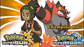 Pokemon UltraSun & UltraMoon - Champion T. Hau Battle Music (HQ)