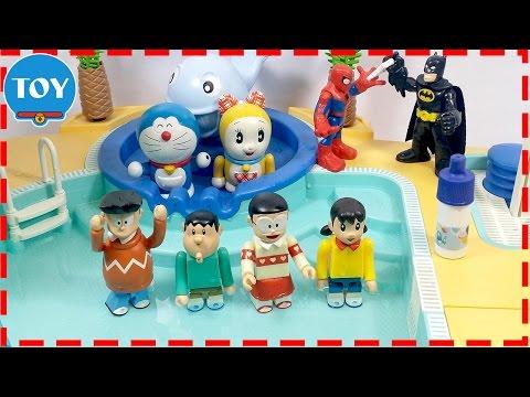 đồ chơi Doremon - Nobita bị hoán đổi thân xác khi đi bơi cùng xuka thumbnail