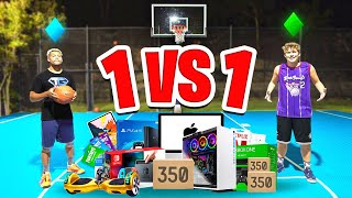 Beat Me 1 vs 1 NBA Basketball, I'll Buy You Anything...