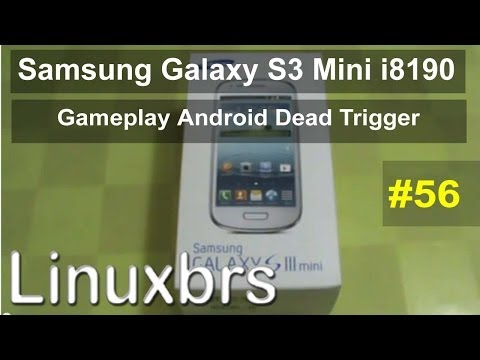 Gameplay Android Dead Trigger - Samsung Galaxy S III Mini i8190 - PT-BR Brasil